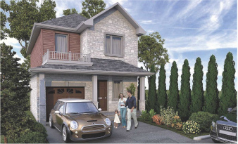 Bedford Estates - Floor Plan Model E